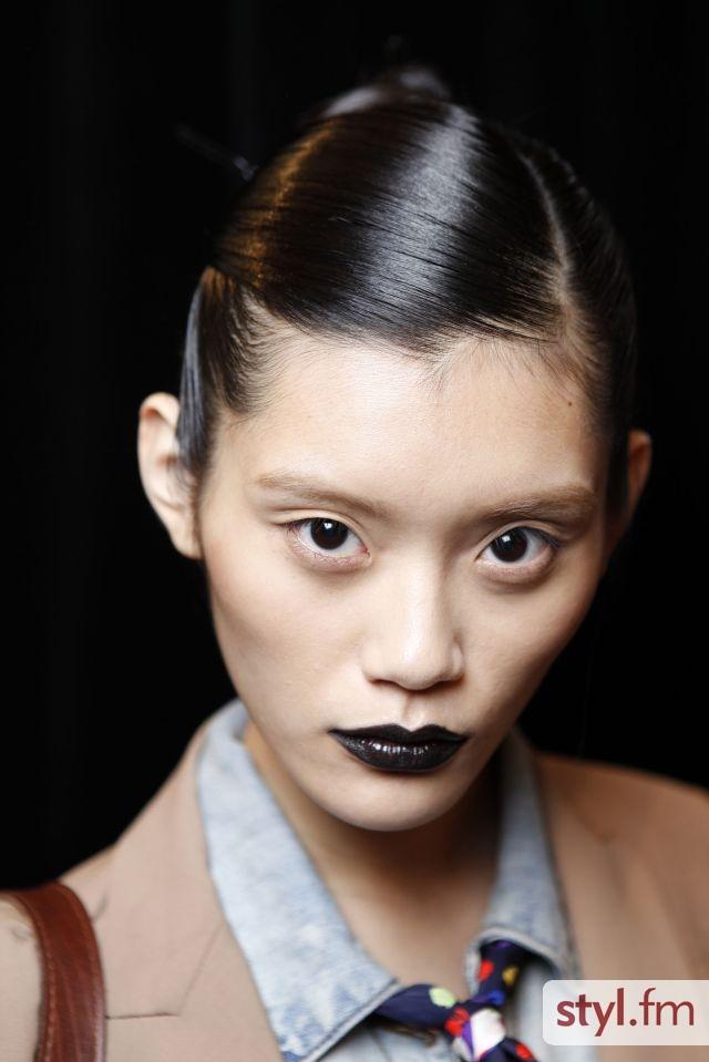 Makijaż na pokazie Alexandre Hercovitch