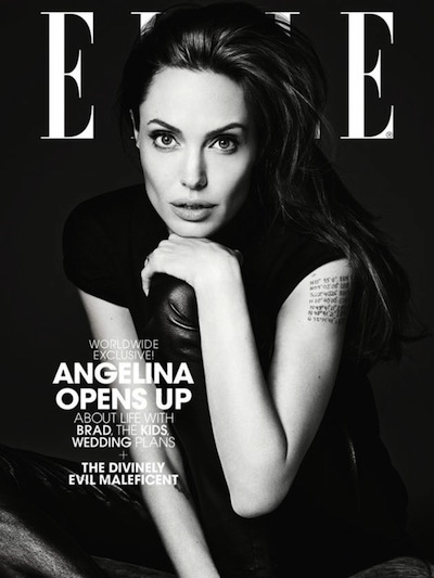 Angelina Jolie dla Elle US, Hedi Slimane