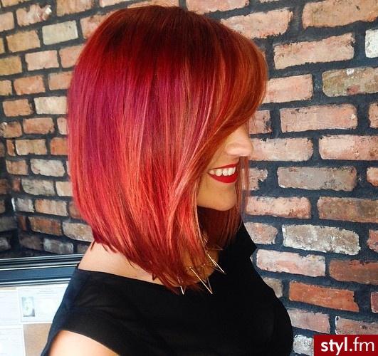 Rude Odcienie Włosów Najlepsze Kolory I Fryzury Z Waszych
