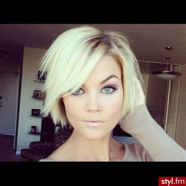 Długość Włosów Za Ucho Kobiece Fryzury Dla Każdej Z Nas
