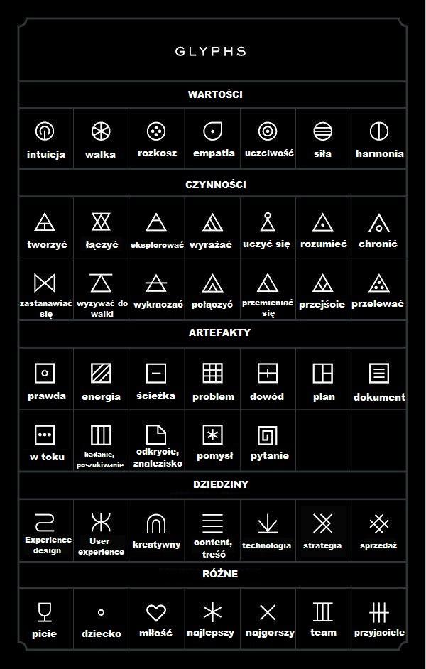 Tatuaże Glify Wzory I Ich Znaczenie 47