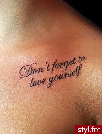 Najlepsze Tatuaże Z Napisami Top 20 Wzorów Z Waszych Galerii