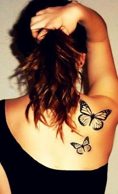 Tatuaż Na łopatce 30 Super Wzorów Na Plecy
