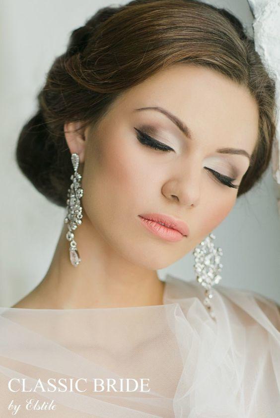 Delikatny Niezwykle Stylowy Makijaż ślubny Olśnij Wszystkich W