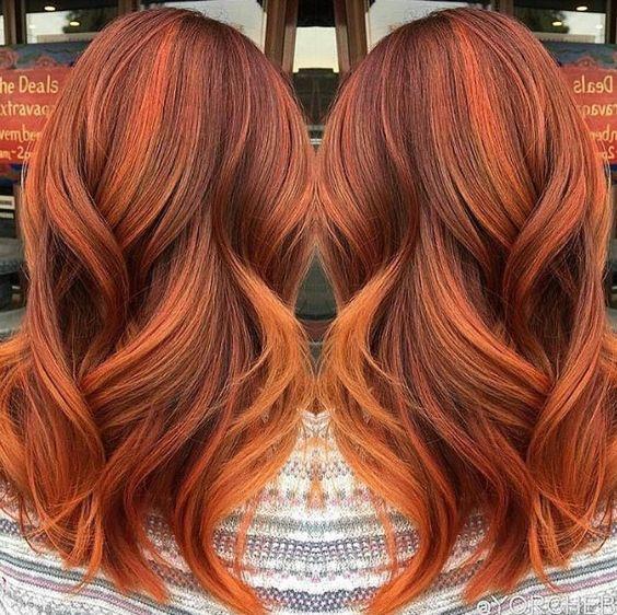 Supermonde Kolory Włos 243 W Do Wypr 243 Bowania Jesienią Pumpkin