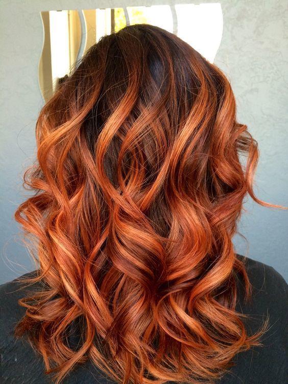 Rudy Balejaż Niezawodny Patent Na żywy Piękny Kolor Włos 243 W