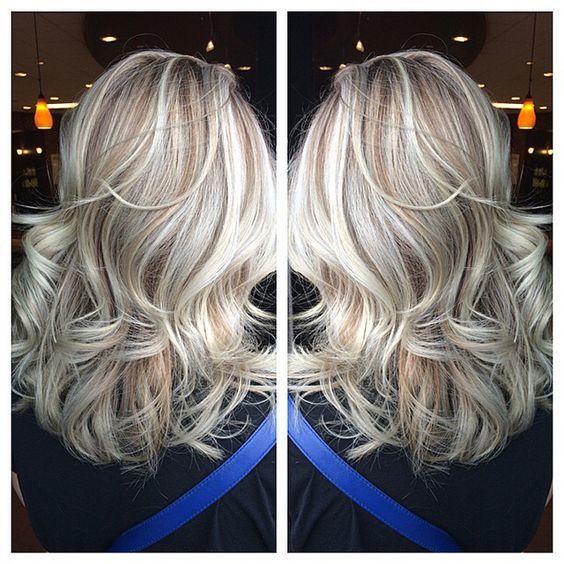 Modna Koloryzacja Blond 2017 Crystal Ash Maślane Sombre