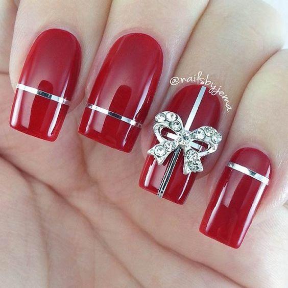 Xmas Manicure Inspirujemy świątecznymi Propozycjami Na Niesamowicie