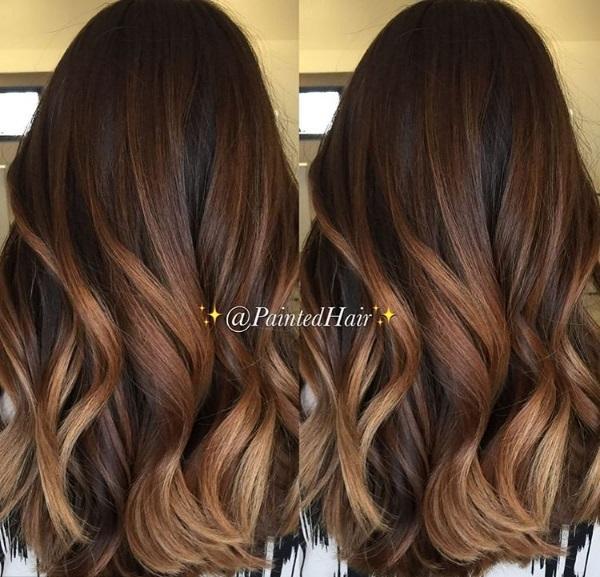 Modne Kolory Włos 243 W Latte Blonde I Kawowe Brązy