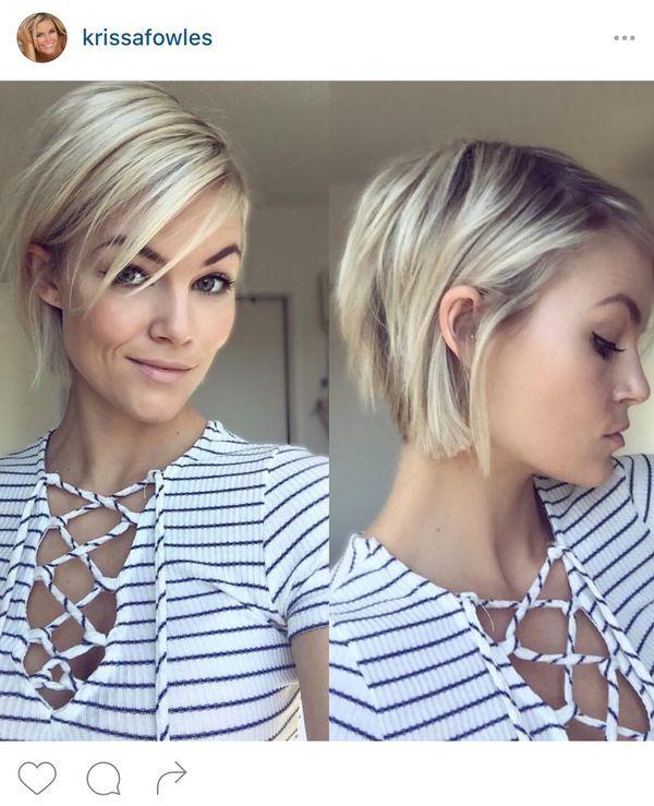 Drapieżne Krótkie Blond Fryzury Co Powiesz Na Zmianę