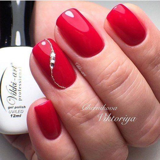 Czerwone Manicure Hybrydowe Uwielbiasz Je Ale Klasyczne Już Ci Się