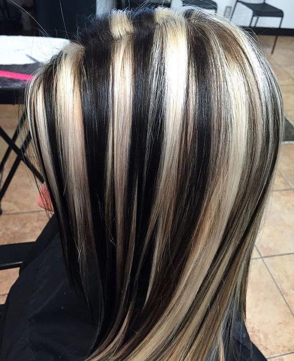 Pasemka Pamiętacie Ten Trend Czarno Białe Blond I Rude
