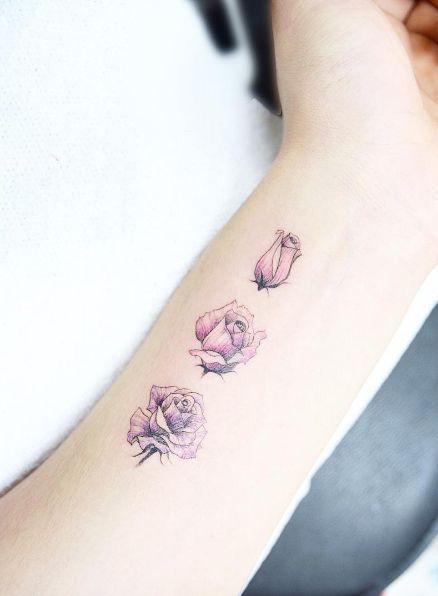 Tatuaże Na Nadgarstek Delikatne Wzory Roślinne Które