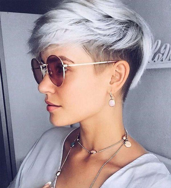 Speziell Für Frauen Die Kurze Graue Frisuren Lieben 10 Super Trend