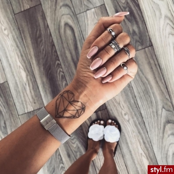 Unikalne Tatuaże Na Rękę Kobiece Stylowe Wzory 2018