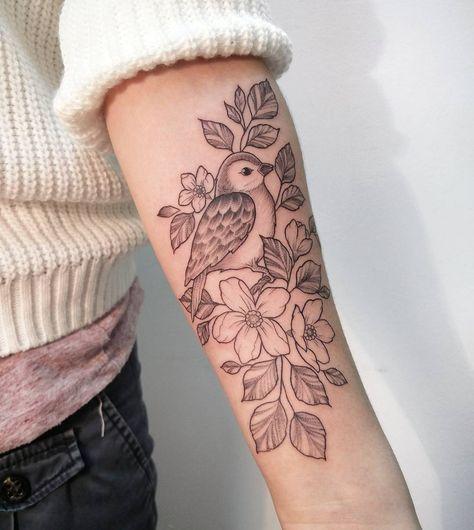Tatuaż Na Przedramieniu Supermodne Wzory Dla Dziewczyn