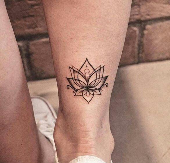 Kwiat Lotosu 25 Ultrakobiecych Tatuaży Które Cię Urzekną