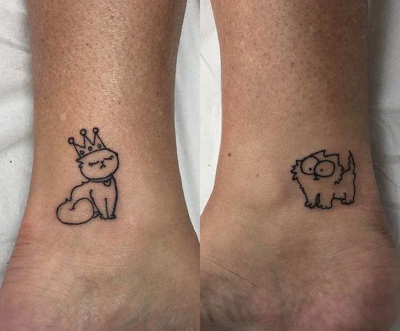 Tatuaże Dla Par Najpiękniejsze Wzory Tatuaży Dla Niej I