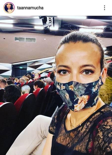 Anna Mucha spełniła swój obywatelski obowiązek.