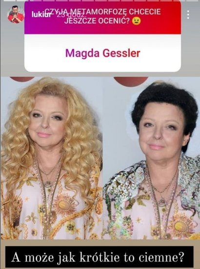 Najwięcej pomysłów na fryzurę miał dla Magdy Gessler.