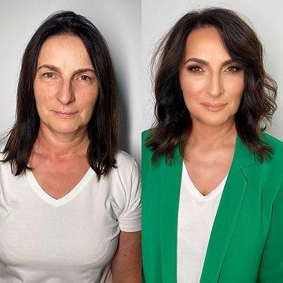 Magda Pieczonka ostatnio wykonała profesjonalny makijaż dojrzałym kobietom