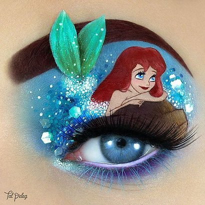 Jej makijaże to miniaturowe dzieła sztuki! Za każdym razem tworzy coś niesamowitego