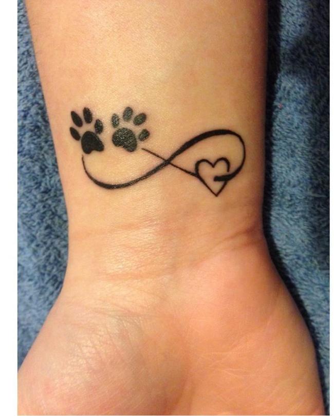 Tatuaże Dla Posiadających Zwierzaki Pokaż że Kochasz