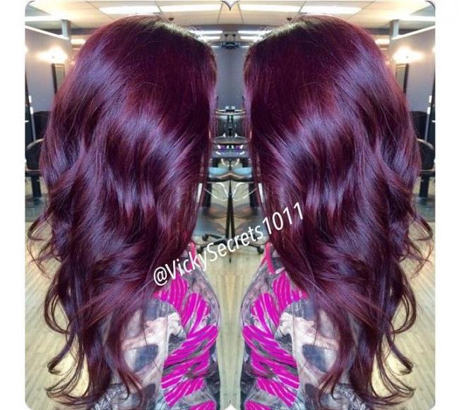 Purpura I Fiolet Szlachetne Kolory Włos 243 W Kt 243 Re Pokochacie