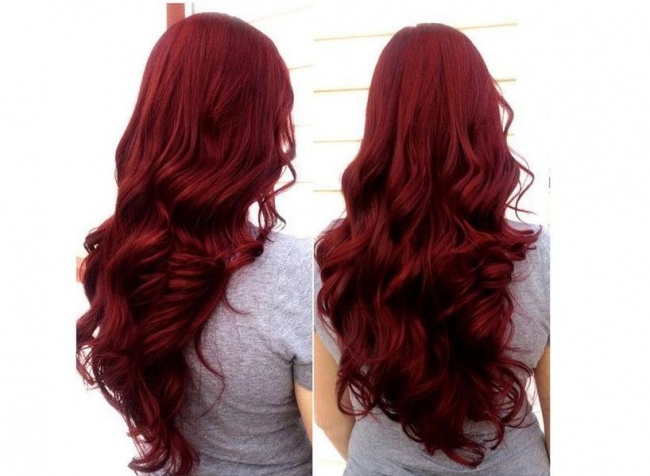 Najpiękniejsze Rude Kolory Włos 243 W W Odcieniach Wina