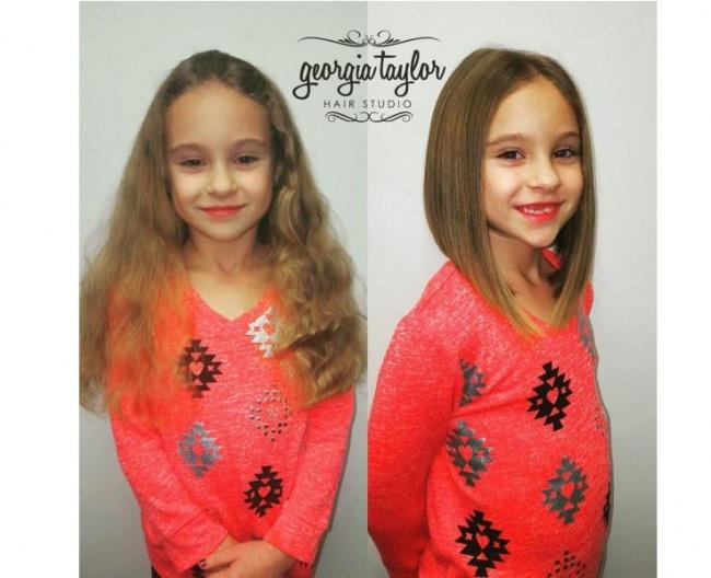 Fryzury Dla Dziewczynek Półdługie I Krótkie