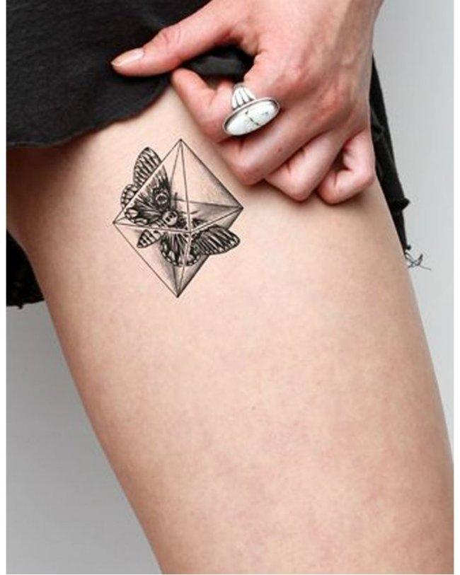 ma y tatua 3d urocze wzory dla dziewczyn. Black Bedroom Furniture Sets. Home Design Ideas