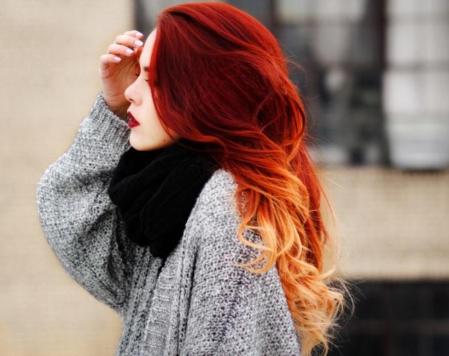Rude Ombre Włosy Z Gradientem W Najpiękniejszym Wydaniu