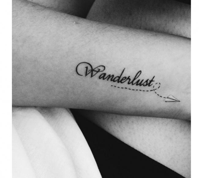 Tatuaż Wanderlust Super Wzory Dla Miłośniczek Podróży