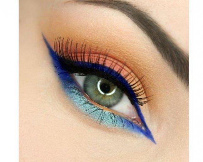 Kolorowy Makijaż Dla Jasnych Oczu Super Propozycje Dla Niebieskich