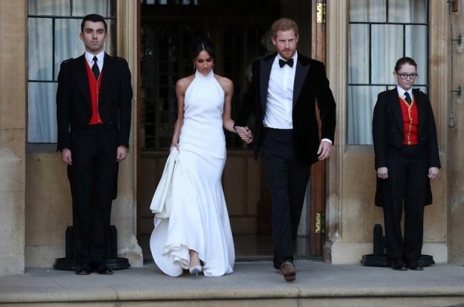 Druga suknia ślubna Meghan