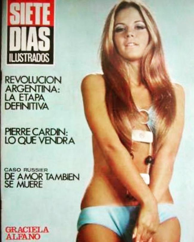Graciela Alfano zaczynała swoją karierę w latach 70.