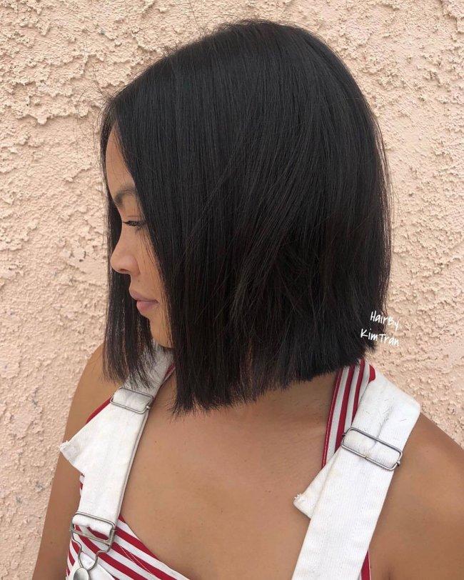 Modne Fryzury średnie 2019 Glass Hair To Nie Jedyny Piękny Trend