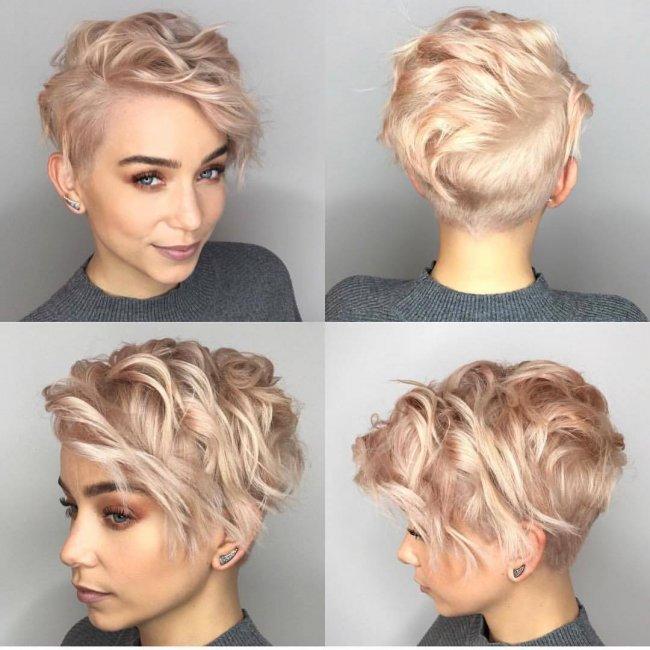 Krótkie Włosy Z Grzywką Na Bok Galeria Ultramodnych Fryzur