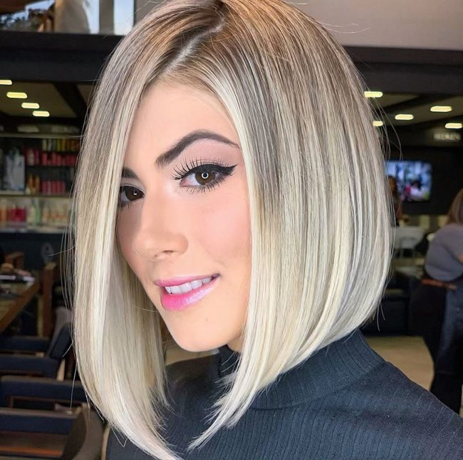 Fryzury Damskie Trendy 2019 Modne Cięcia Włosów średniej