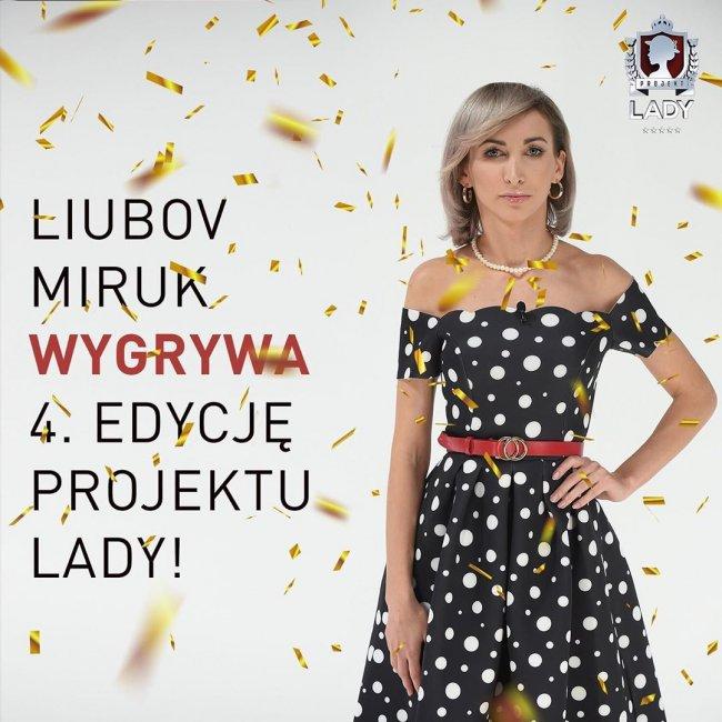 Liubov wygrała Projekt Lady 4