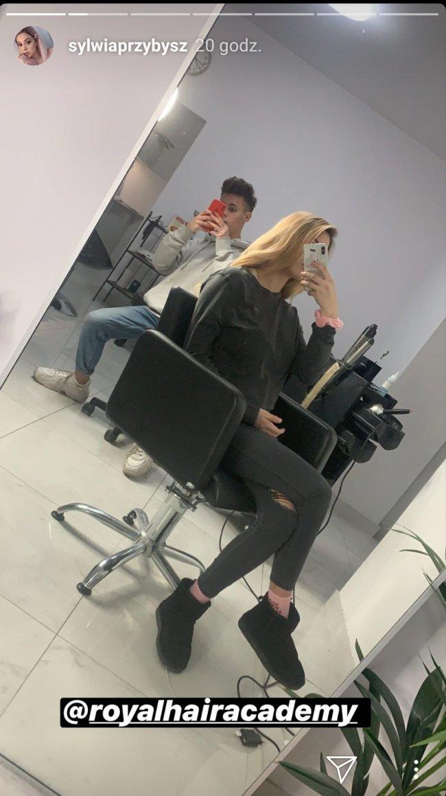 Sylwia Przybysz 2 tygodnie po porodzie